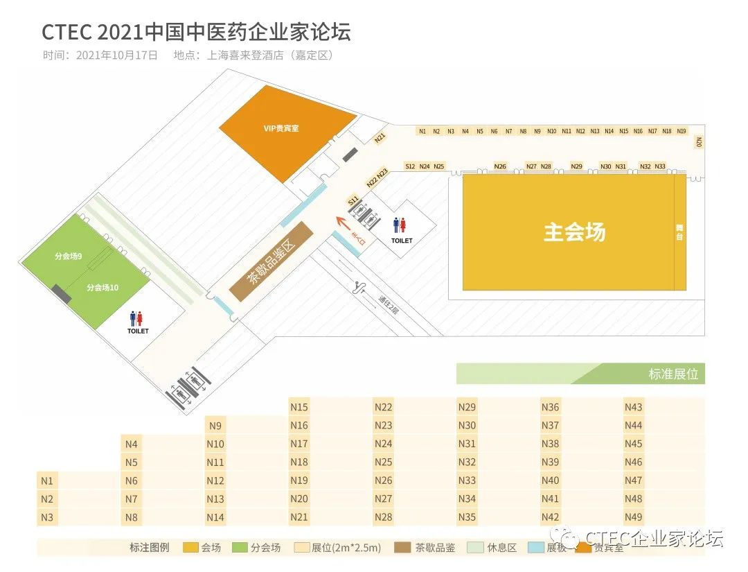CTEC 2021中国中医药企业家论坛将于2021年10月17日在上海盛大开幕